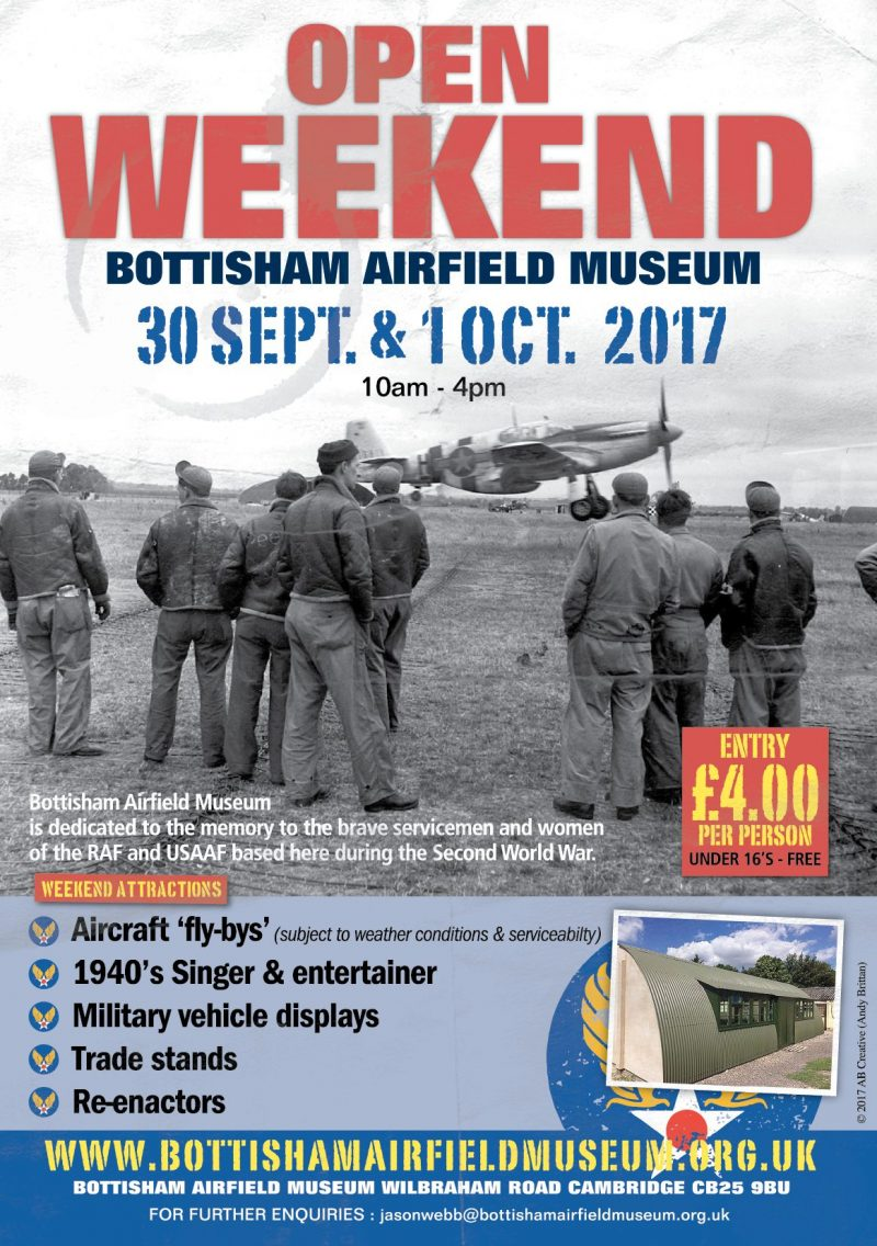Open Weekend Bottisham Airfield Museum @ Bottisham Airfield | England | United Kingdom