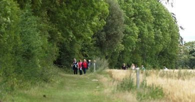 Healthy walks with Cambridge PPF