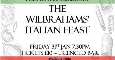Wilbrahams' Italian Feast