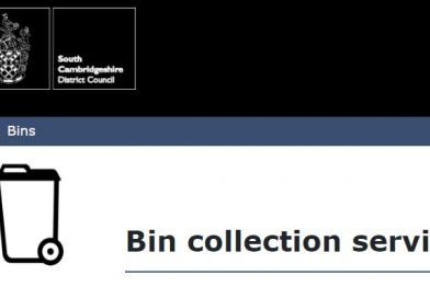 SCDC Advice for placing bins out during heavy winds