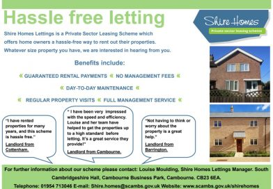 Shire Homes Lettings – Private Sector Leasing Scheme (SCDC)