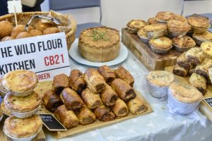Some pastries from 'The Wild Flour Kitchen'