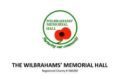 Memorial Hall AGM Monday July 5th 7.30pm
