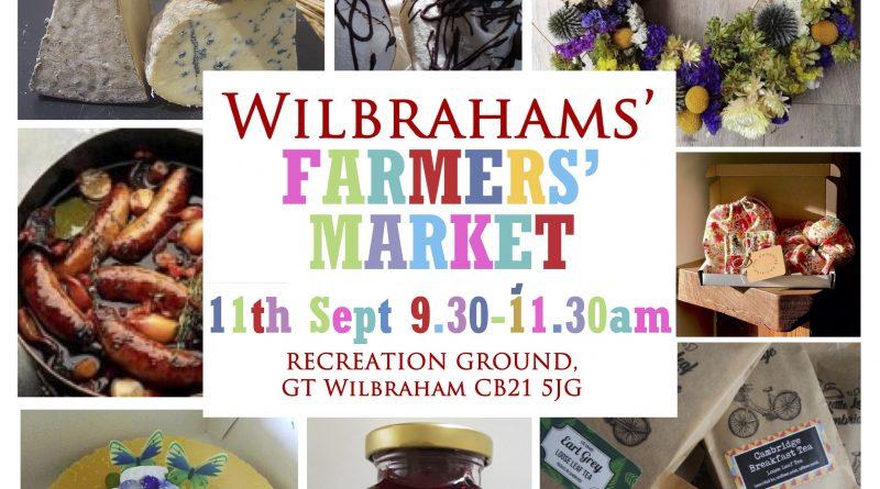Wilbrahams' Farmers' Market this Saturday